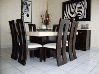 comedores-minimalistas (30)   Decoracion de interiores Fachadas para ...