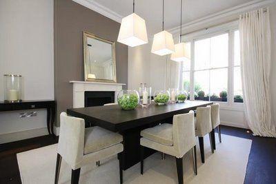 Comedores minimalistas 9 decoracion de interiores for Comedores minimalistas