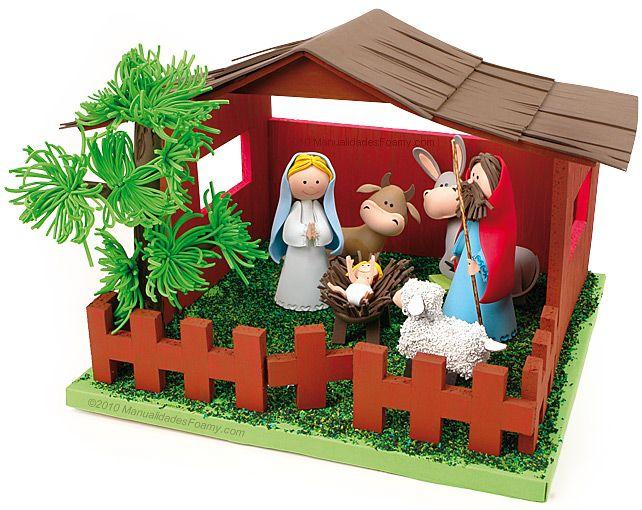 Como hacer nacimientos navidad 7 decoracion de - Adornos de navidad para hacer en casa ...