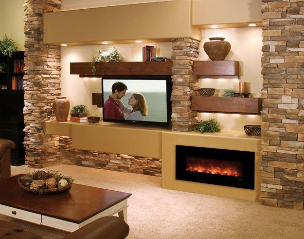 cuarto-sala-de-television-tv (10) | Como Organizar la Casa ...