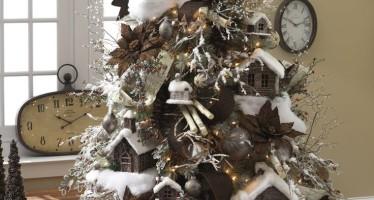 Decoración de navidad Color Cafe y Cobrizo