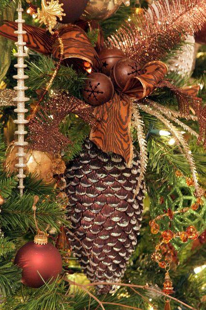 Decoracion De Navidad Cafe Cobrizo Cobre 21 Decoracion