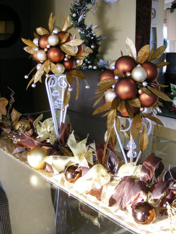 Decoracion De Navidad Cafe Cobrizo Cobre 30 Decoracion