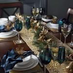 decoracion navidad azul turqueza