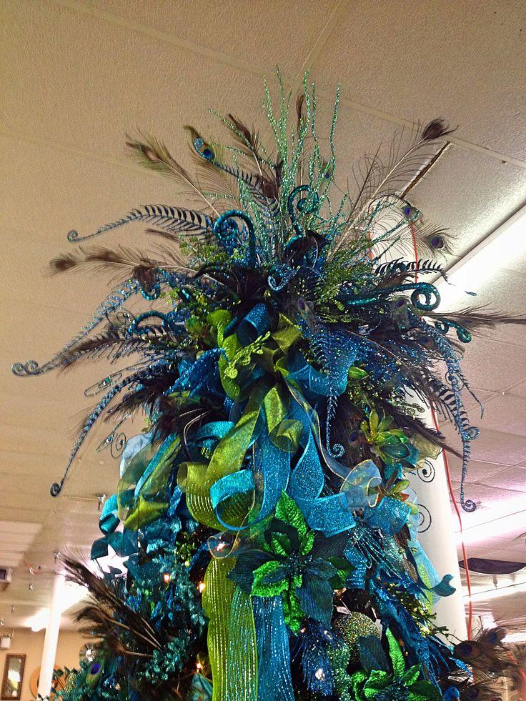 Decoracion Navidad Azul Turqueza 2 Como Organizar La