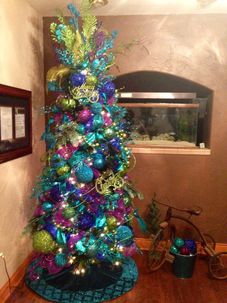 Colorful Christmas Trees Ideas