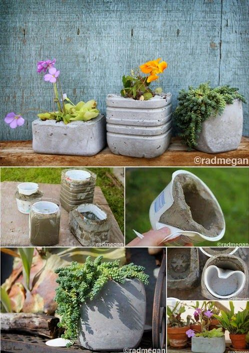 Ideas para decoracion de jardines diy for Carretillas de adorno para jardin