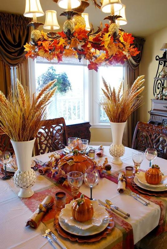 Ideas Decorar Thanksgiving Dia Accion De Gracias 6 Como