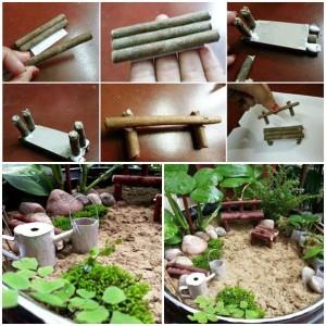 Ideas diy para decorar tu jardin