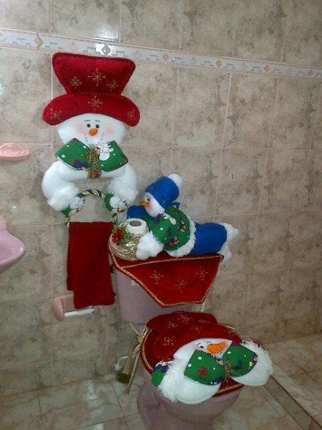 Ideas para decoracion con monos de nieve de fieltro 5 for Adornos de decoracion para el hogar