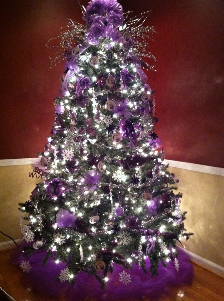 Ideas para decoracion de navidad plata con morado for Decoration 4 life