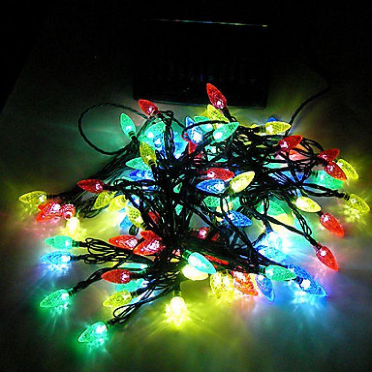 Ideas para decorar con luces 8 decoracion de - Luces navidenas solares ...