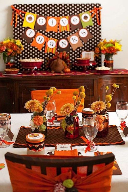 Ideas Para Decorar En Thanksgiving Dia De Accion De Gracias Como