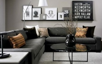 Ideas para Decoracion de interiores color Gris