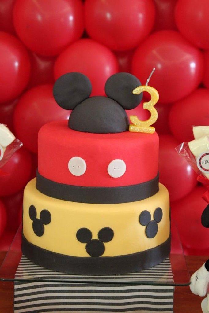 Diseños de pasteles de Mickey mouse