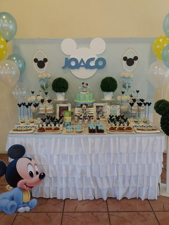 ideas tematicas de mickey mouse