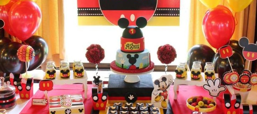 Mickey mouse decoracion fiesta for Decoracion la casa de mickey mouse