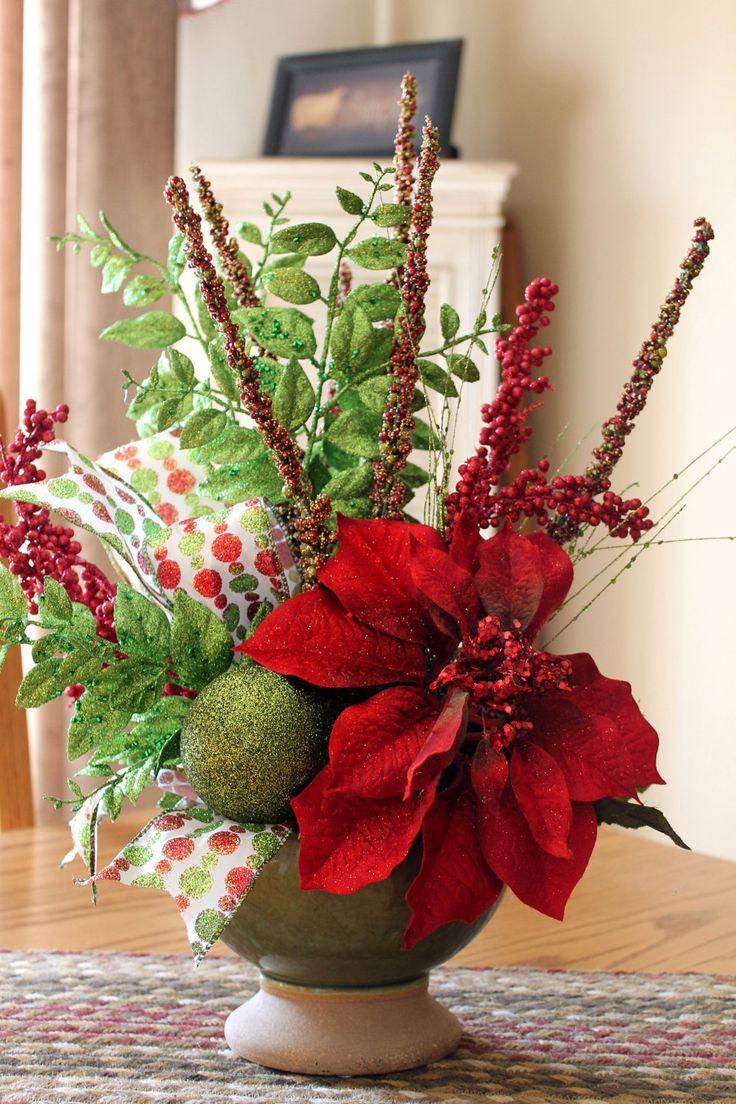 Adornos centro mesa de navidad - Decoracion para mesas de centro ...