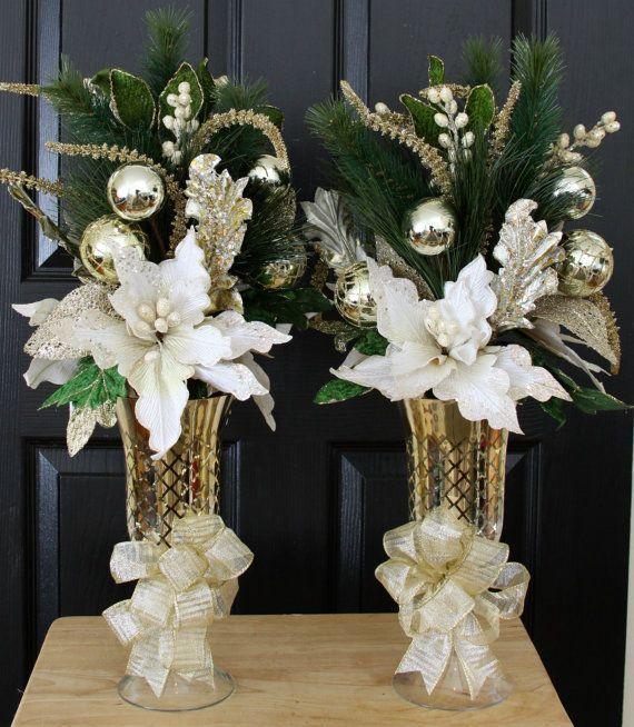 modernos adornos centro mesa de navidad 2015 2016