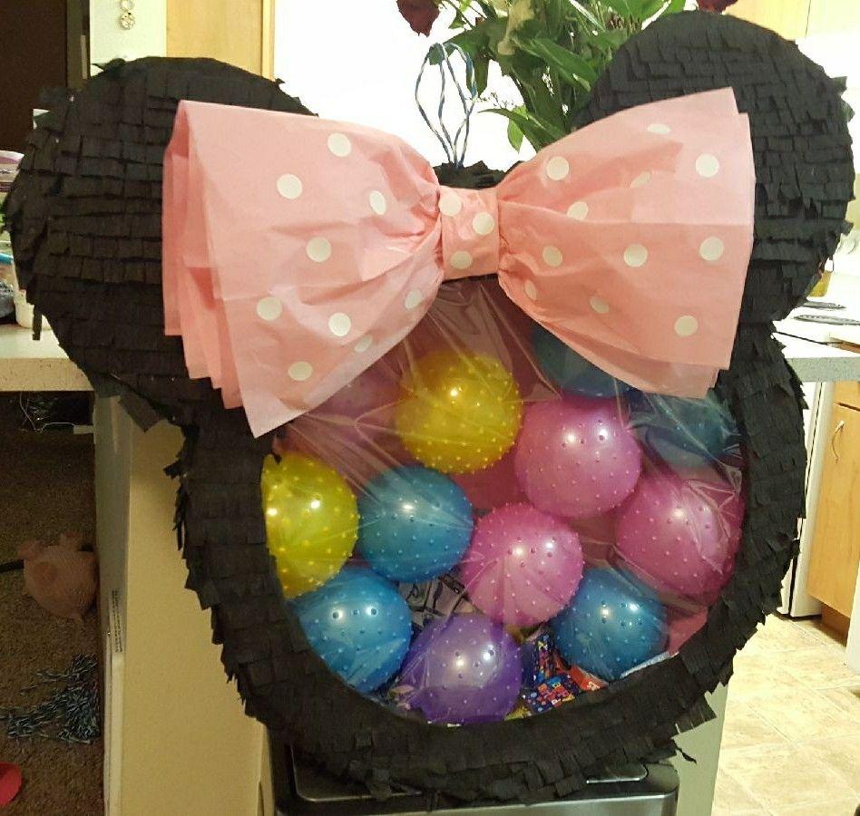 piñata de globos de mickey mouse