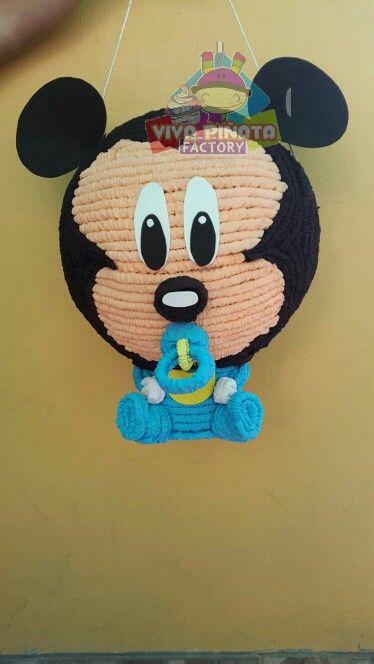 piñata de mickey bebe