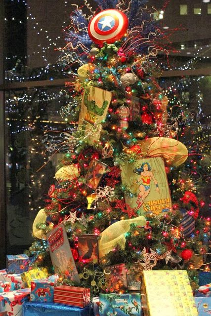 pinos de navidad mujer maravilla
