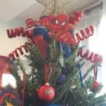 pinos de navidad super heroes