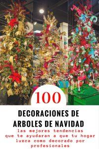 100 ideas para decoracion de arboles de navidad
