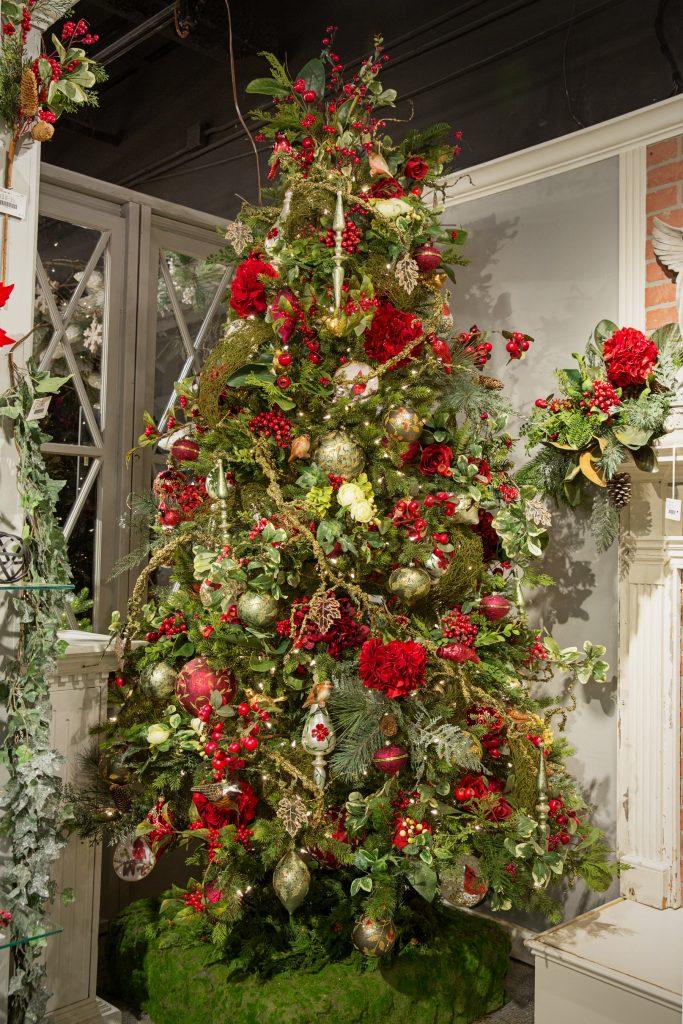 Decoracion de arbol de Navidad