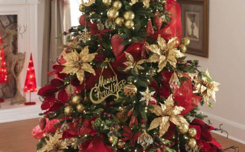 Ideas de decoración de árbol de Navidad 2019 – 2020