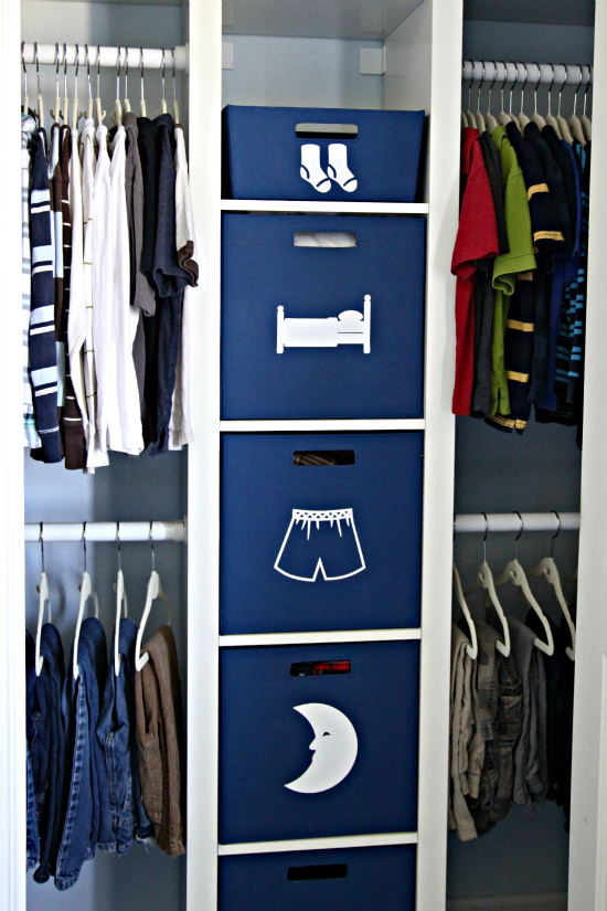 Ideas de closet para ni os y ni as decoracion de for Closet para habitaciones pequenas