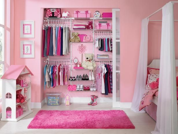 Ideas de closet para ni as decoracion de interiores for Closet para habitaciones pequenas