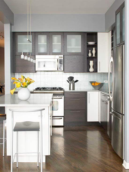 Decoracion de cocinas para casas departamentos pequeños | Decoracion ...