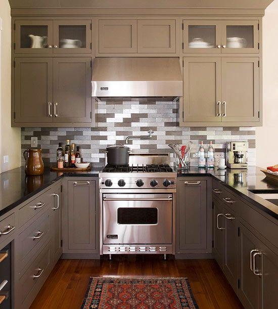 Decoracion de cocinas para casas departamentos pequenas - Decoracion cocinas pequenas ...