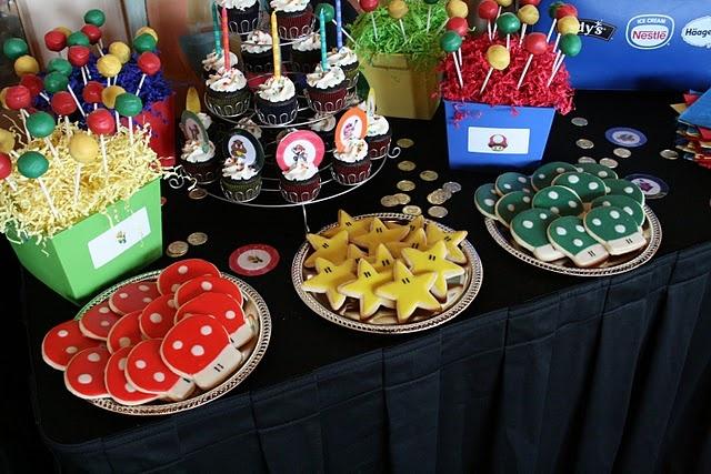 Fiesta cumpleano mario bros 25 decoracion de for Articulos decorativos para casa