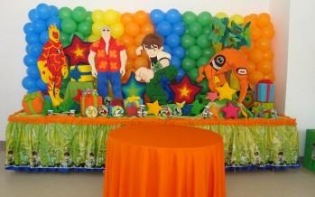 Ideas para fiesta infantil ben 10
