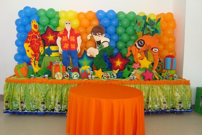 fiesta infantil ben 10