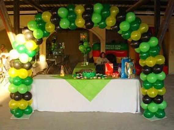 Fiesta infantil ben 10 decoracion de interiores fachadas - Decoracion fiestas infantiles en casa ...