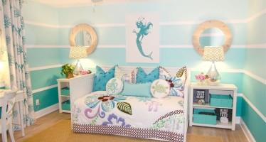 Ideas decoracion de recamara de la Sirenita Ariel