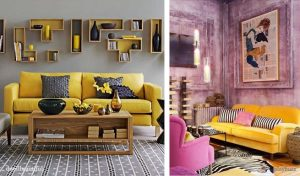 Ideas decoracion salas con color
