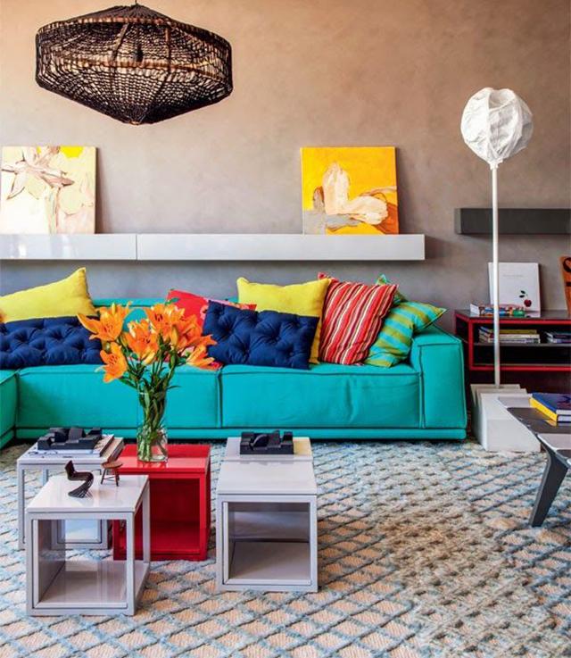Ideas decoracion salas con color 18 decoracion de - Ideas decoracion despacho ...