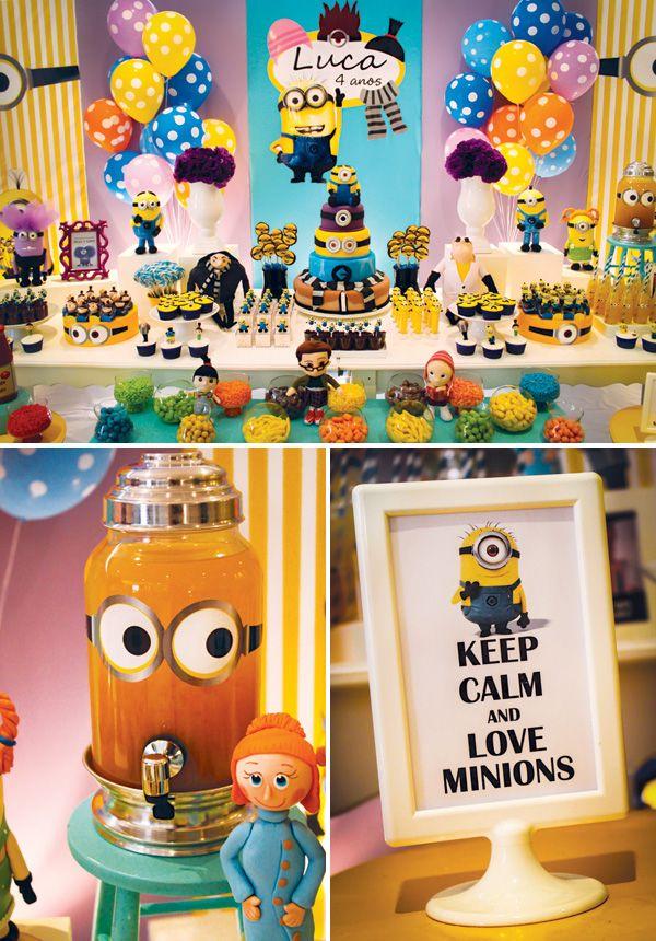 Ideas fiesta cumpleanos pinata minions 18 decoracion - Ideas fiesta cumpleanos ...