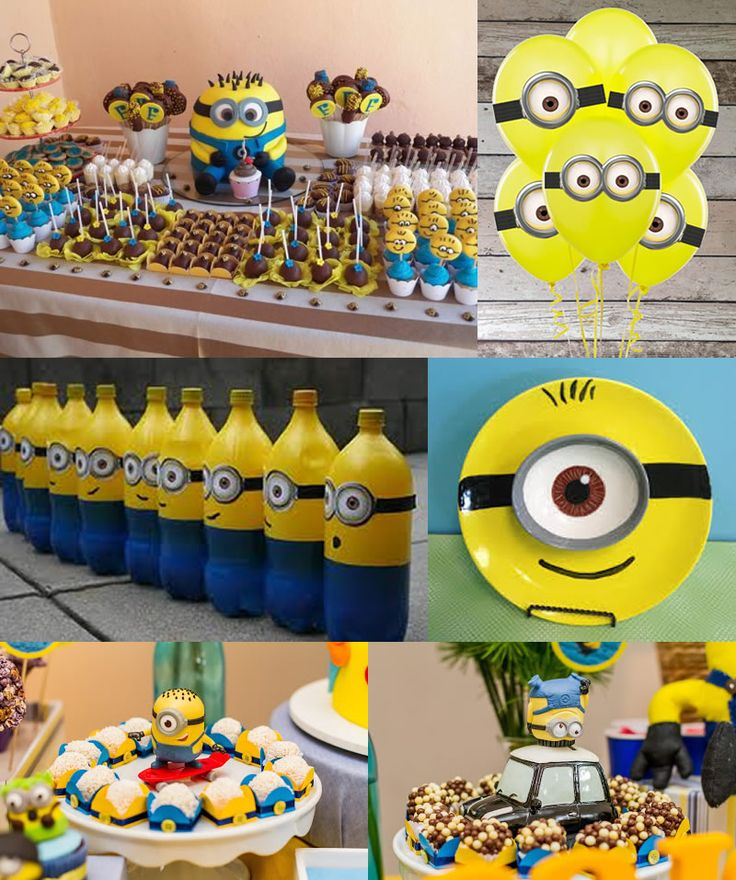 Ideas fiesta cumpleanos pinata minions 54 decoracion - Ideas fiesta cumpleanos ...