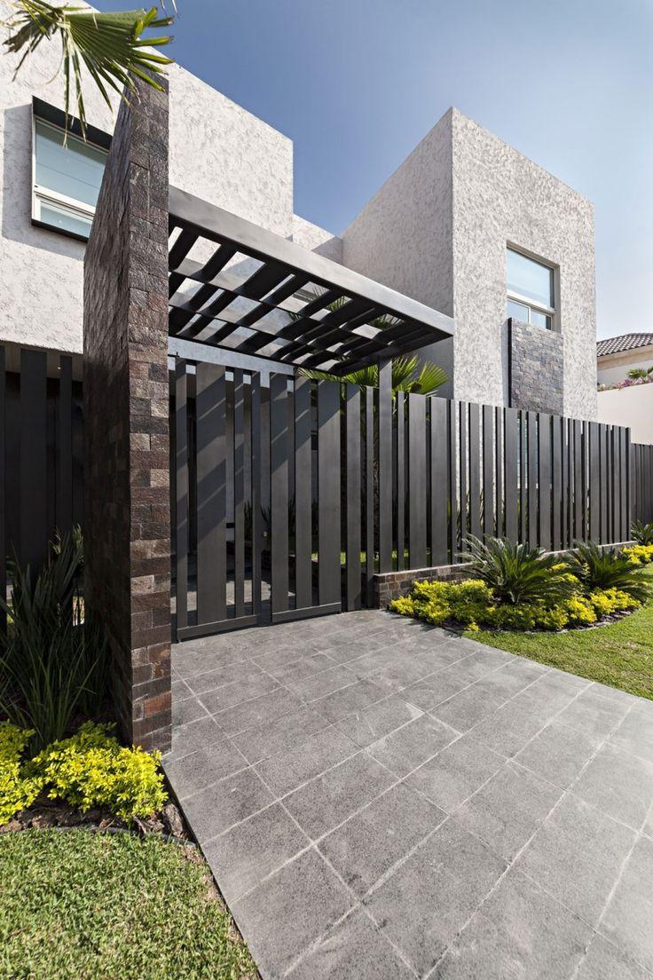 Ideas para fachadas de casas 11 decoracion de for Ideas para fachadas de casas