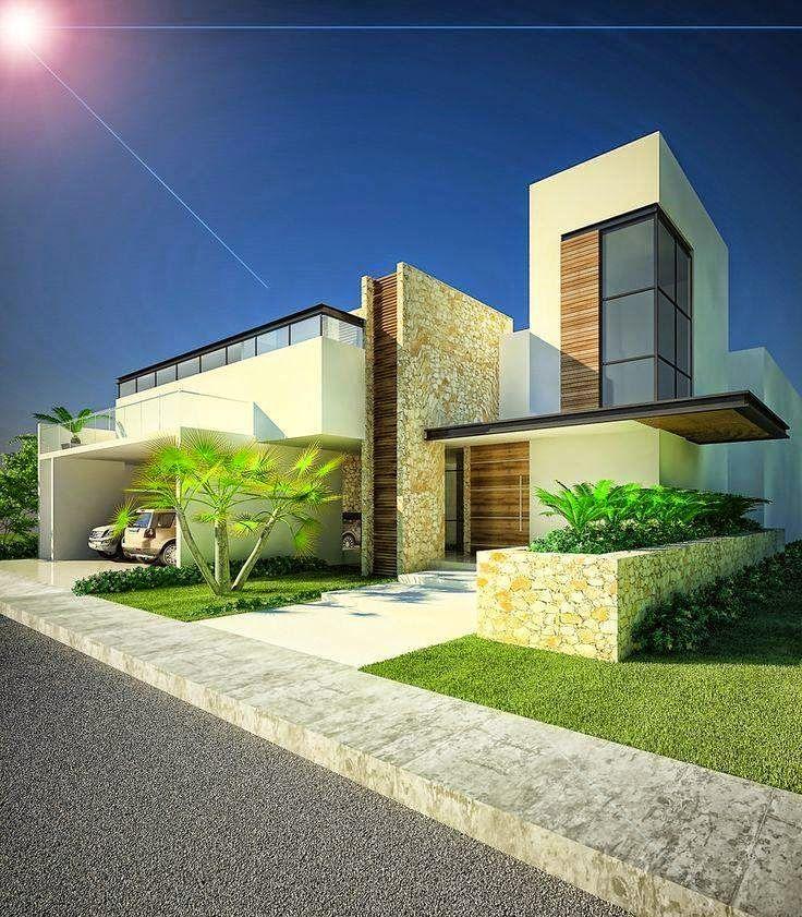 Ideas para fachadas de casas 13 decoracion de for Ideas para fachadas de casas
