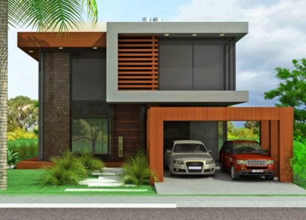 Ideas para fachadas de casas 3 decoracion de - Ideas para fachadas de casas ...