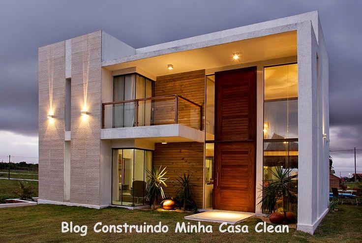 Ideas para fachadas de casas 30 decoracion de for Ideas fachadas de casas pequenas