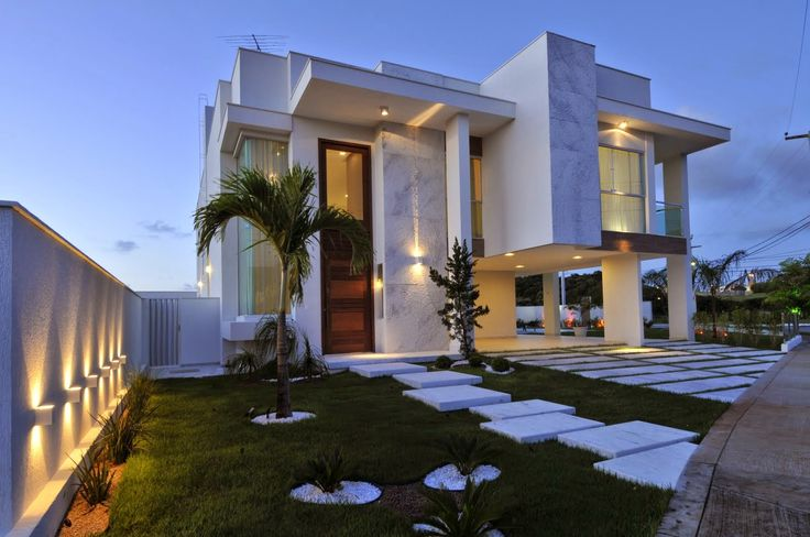 Ideas para fachadas de casas 35 decoracion de for Ideas para fachadas de casas