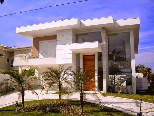 Ideas para fachadas de casas 6 decoracion de Fachadas de entradas de casas modernas