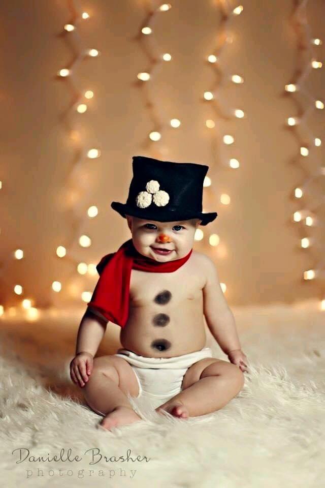Ideas para fotos de bebes navidad fin de año   Decoracion de ...